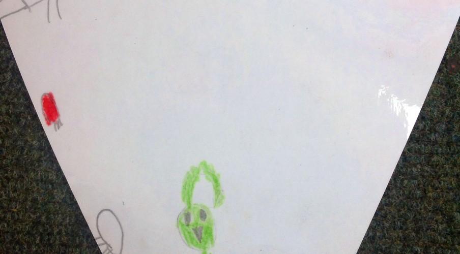 Strathblane Primary made JoJo Gnome Bunting