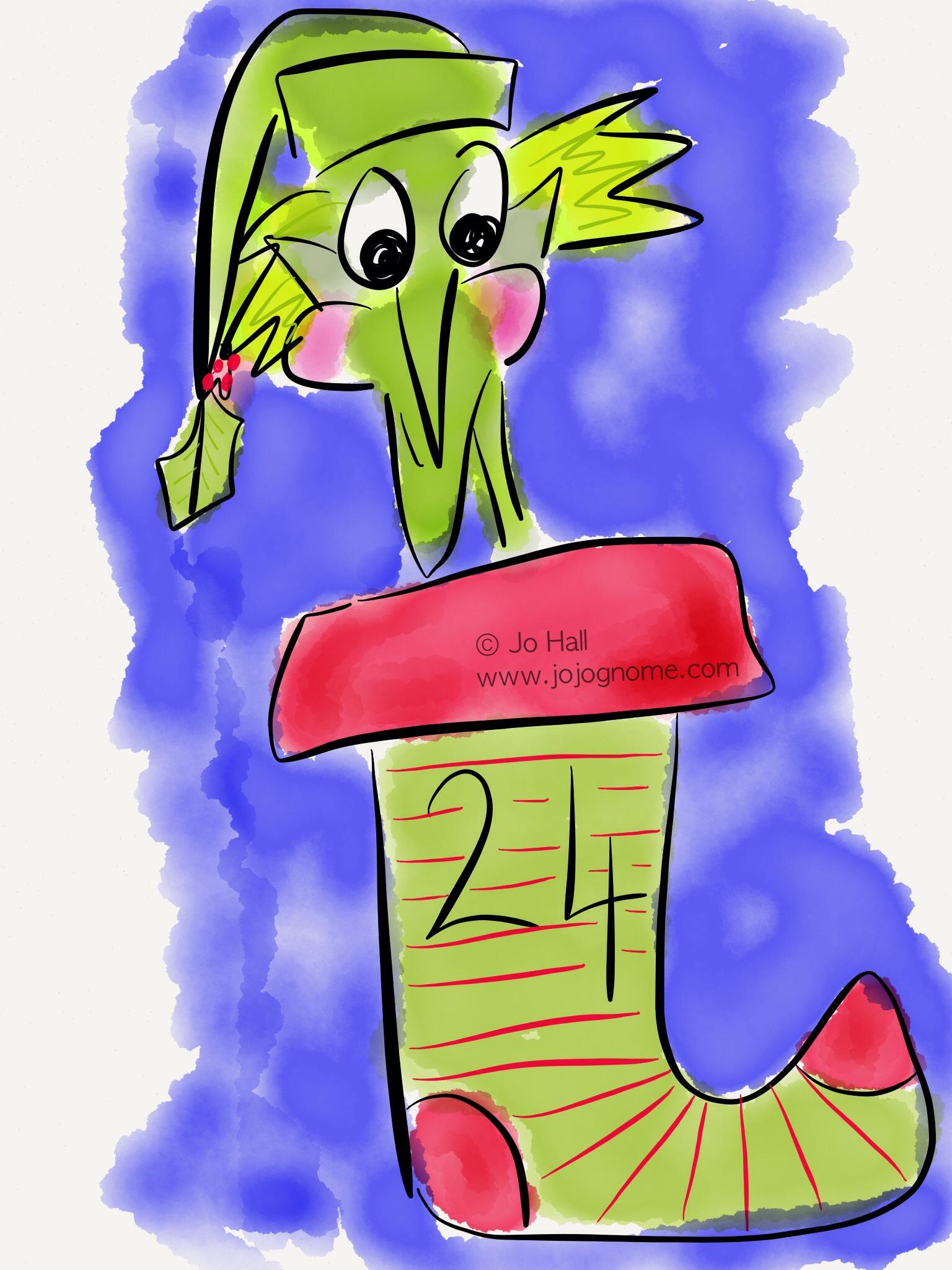 JoJo Gnome\'s Christmas Calendar – Day 24   JoJoGnome