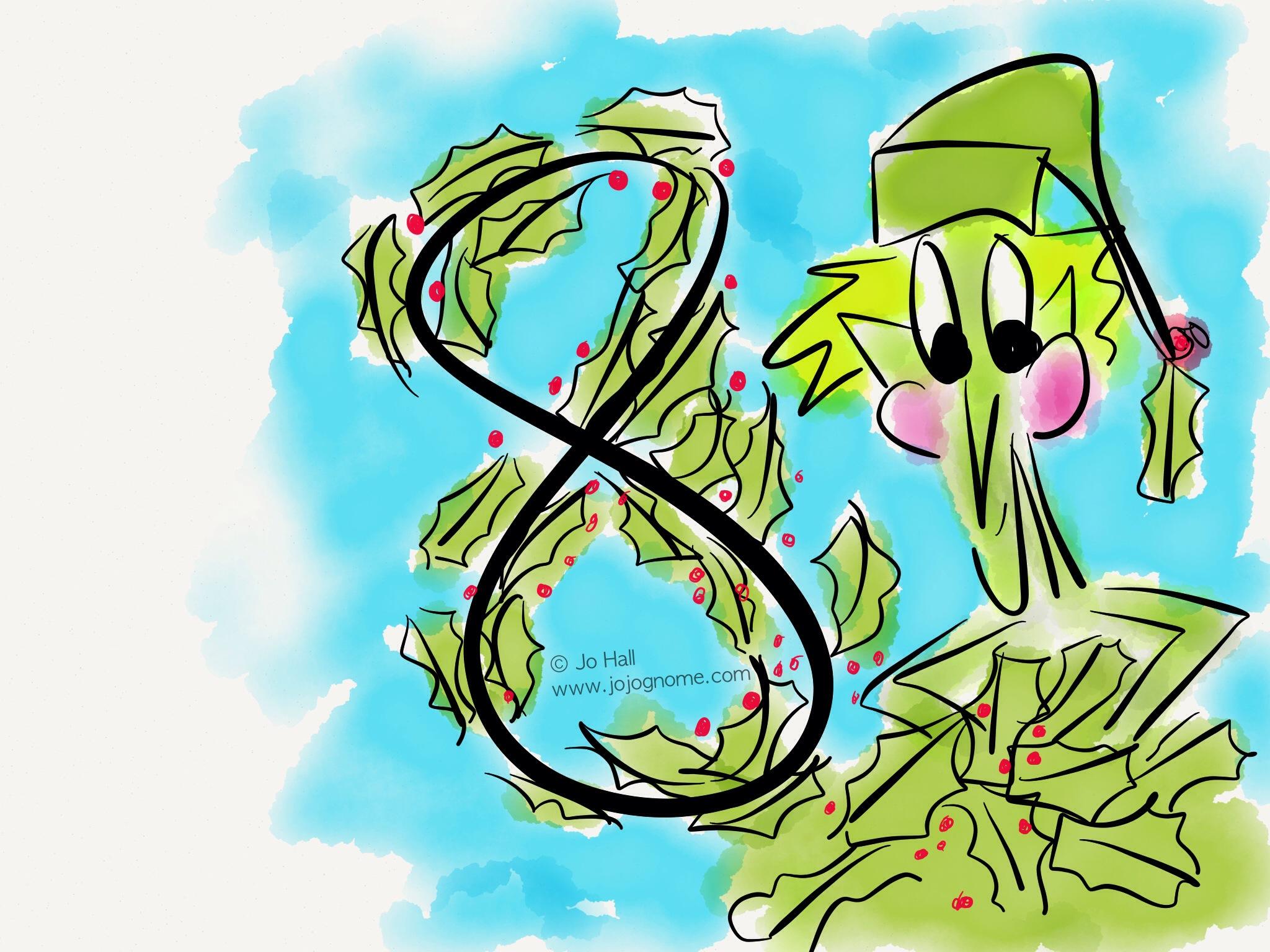 JoJo Gnome\'s Christmas Calendar - Day 8   JoJoGnome