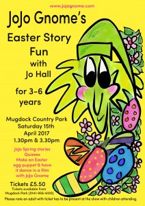 gnome easter poster A4-