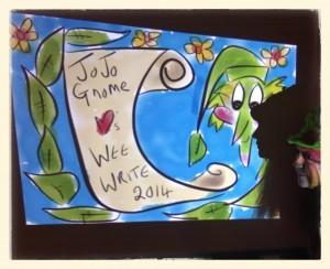 JoJo at Wee Write