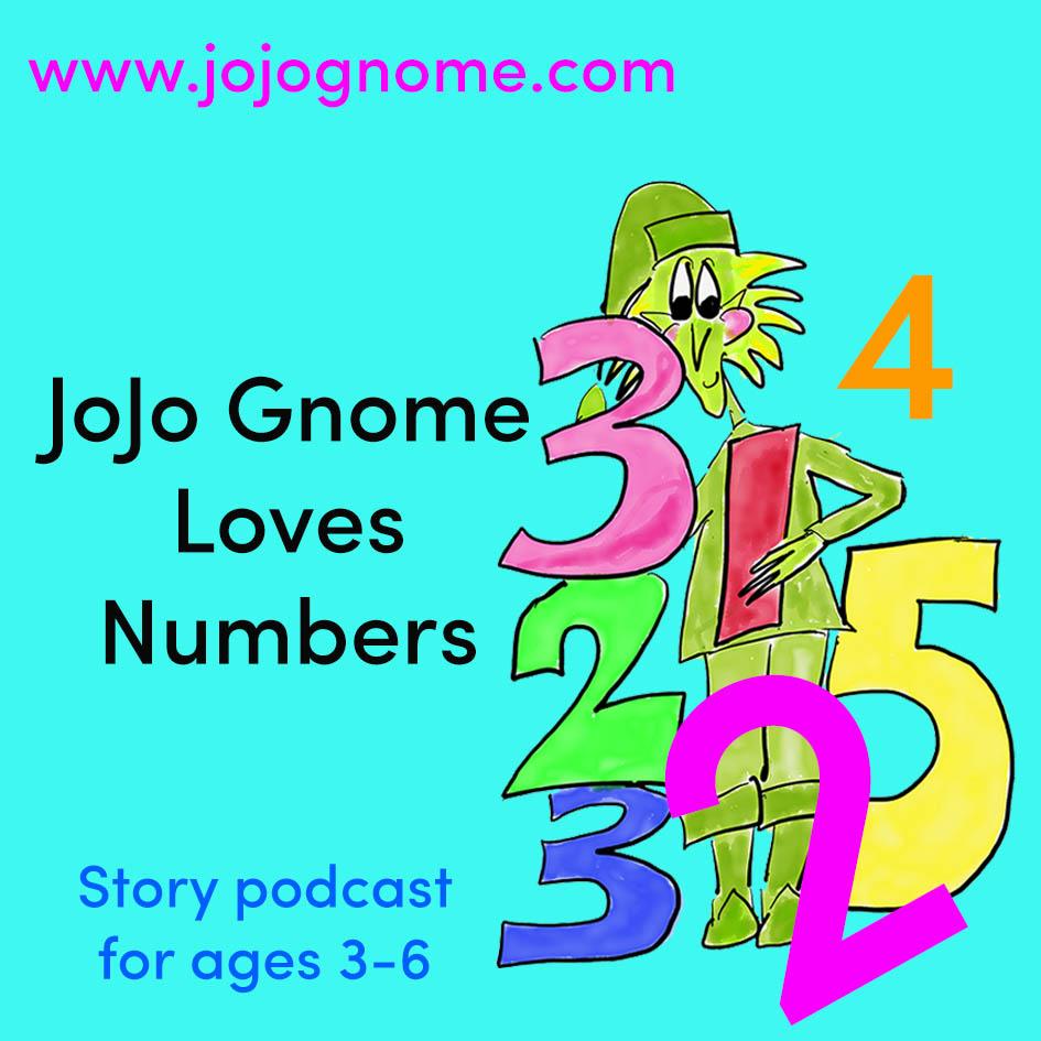JoJo Gnome Loves numbers